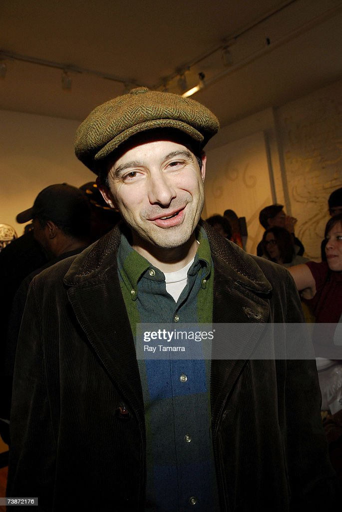 Recording artist Adam 'Ad-rock' Horovitz attends the Untitled Original Skateboard Art Exhibition Opening Party at the Eye Jammie Fine Arts Gallery April 12, 2007 in New York City.