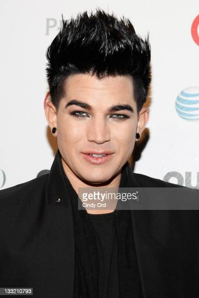 Recording artist Adam Lambert attends 2011 OUT100 at the Skylight SOHO on November 17 2011 in New York City