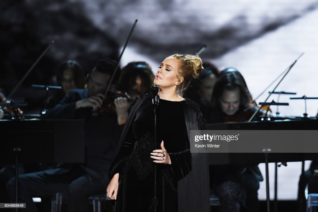 59th GRAMMY Awards -  Show : News Photo