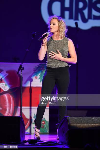 Recording Artist Adley Stump performs on stage during the 2019 Christmas 4 Kids benefit concert at Ryman Auditorium on November 25, 2019 in...