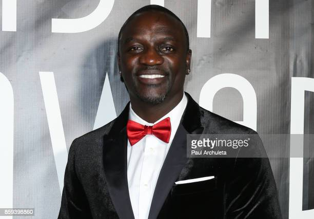 Recording Artist Akon attends the 4th Annual CineFashion Film Awards at The El Capitan Theatre on October 8 2017 in Los Angeles California