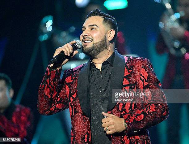Recording artist Alan Ramirez of Banda MS perform onstage during the 2016 Latin American Music Awards at Dolby Theatre on October 6 2016 in Hollywood...