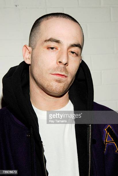 Recording artist Alchemist attends the Jordan Classic Celebrity Basketball Game at the New York Gauchos Gym April 19 2007 in New York City