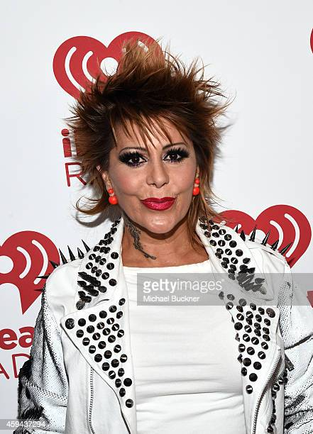 Recording artist Alejandra Guzman attends the iHeartRadio Fiesta Latina festival presented by Sprint at The Forum on November 22, 2014 in Inglewood,...
