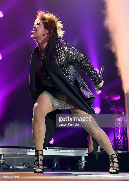 Recording artist Alejandra Guzman performs onstage during the iHeartRadio Fiesta Latina festival presented by Sprint at The Forum on November 22 2014...