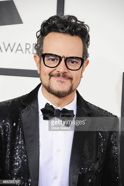 Recording artist Aleks Syntek attends the 56th GRAMMY Awards at Staples Center on January 26 2014 in Los Angeles California
