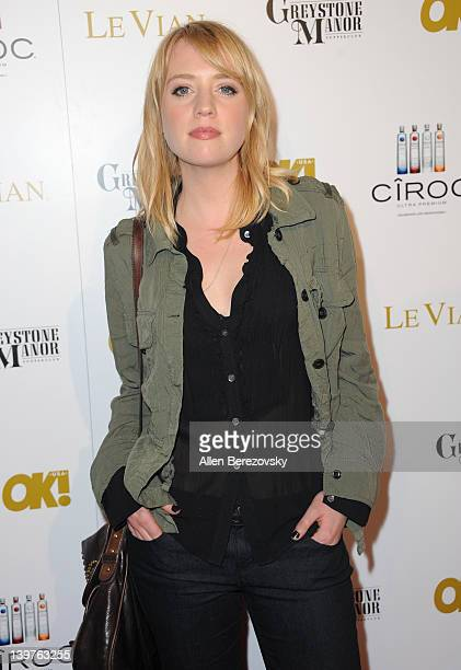 Recording artist Alexz Johnson attends OK Magazine PreOscar Party Arrivals at Greystone Manor Supperclub on February 23 2012 in West Hollywood...