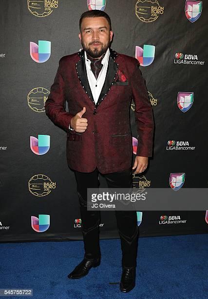 Recording artist Alfonso Lizarraga attends Univision Deportes' Balon De Oro Awards at The Shrine Auditorium on July 9 2016 in Los Angeles California