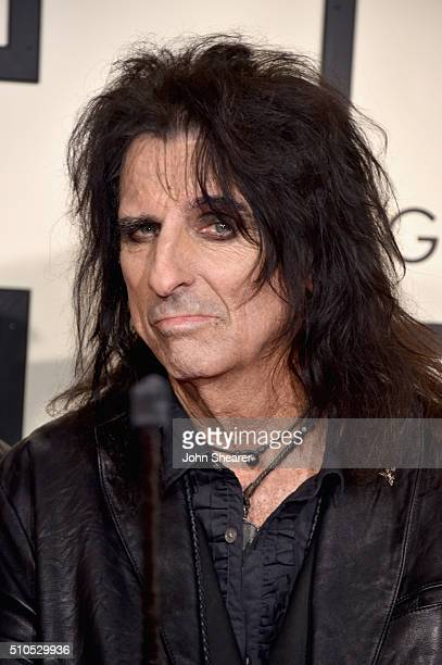 Recording artist Alice Cooper attends The 58th GRAMMY Awards at Staples Center on February 15 2016 in Los Angeles California