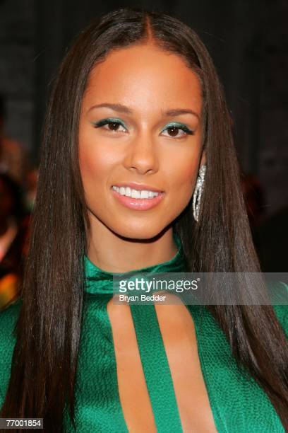 Recording artist Alicia Keys appears onstage at BET's 106 Park at BET Studios September 24 2007 in New York City