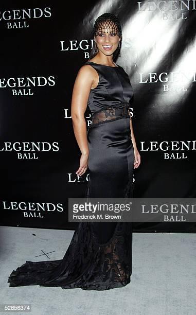 Recording artist Alicia Keys attends Oprah Winfrey's Legends Ball at the Bacara Resort and Spa on May 14 2005 in Santa Barbara California