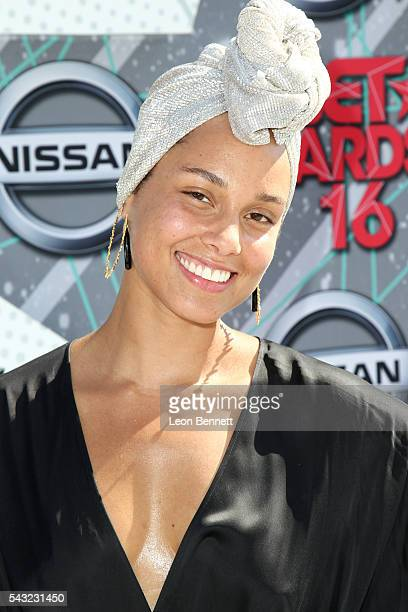 Recording artist Alicia Keys attends the Make A Wish VIP Experience at the 2016 BET Awards on June 26 2016 in Los Angeles California