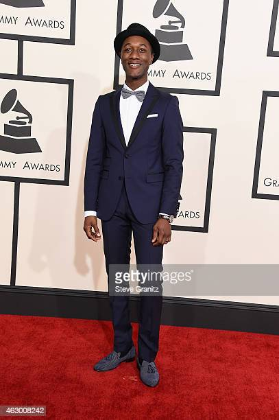 Recording artist Aloe Blacc attends The 57th Annual GRAMMY Awards at the STAPLES Center on February 8 2015 in Los Angeles California