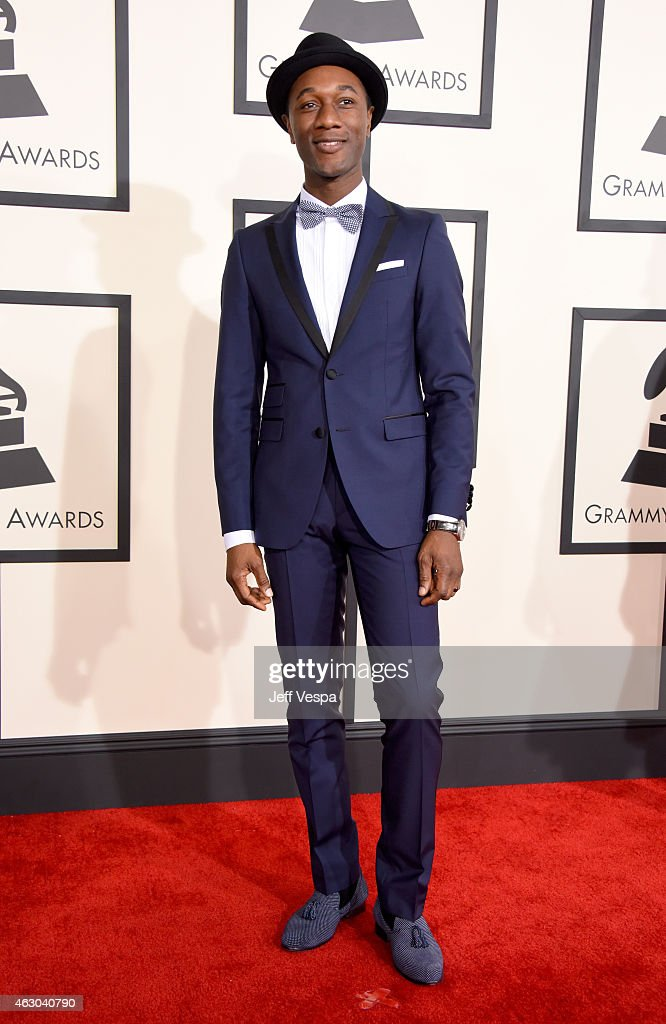The 57th Annual GRAMMY Awards - Red Carpet : News Photo