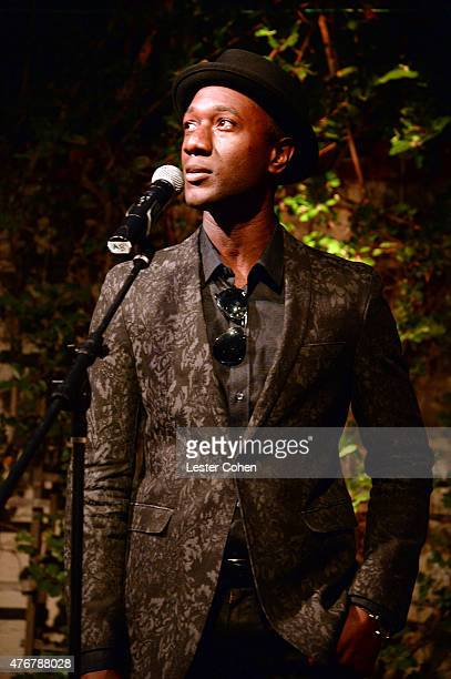 Recording artist Aloe Blacc performs onstage during City Of Hope's 11th Annual Songs Of Hope Event on June 11 2015 in Brentwood California