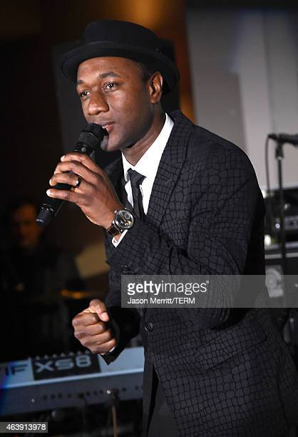 Recording artist Aloe Blacc performs the 8th annual Hollywood Domino Gala presented by BOVET 1822 benefiting Artists for Peace and Justice at the...