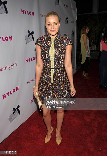 Recording artist Amanda AJ Mischalka attends NYLON Magazine And Tommy Girl Celebrate The Annual May Young Hollywood Issue Party at Hollywood...