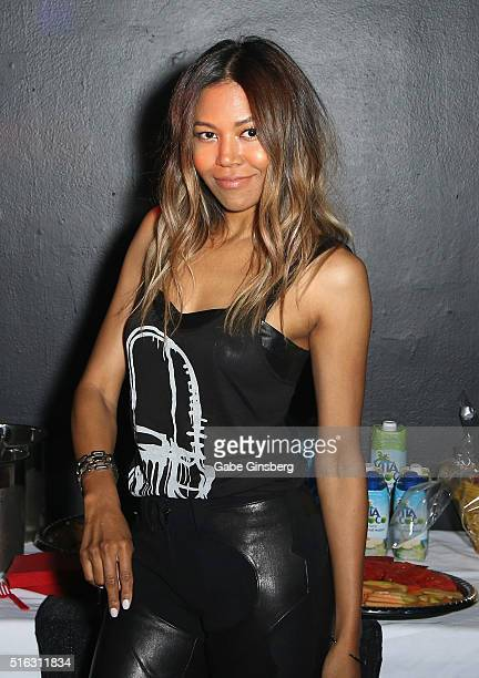 Recording artist Amerie attends the ninth annual Tempted2Touch Black LGBT Pride Spring Break Getaway on March 18 2016 in Las Vegas Nevada