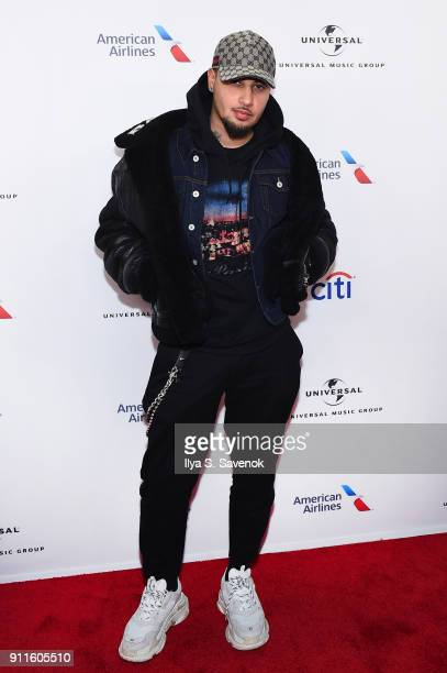 Recording artist Amir Obe attends the Universal Music Group's 2018 After Party to celebrate the Grammy Awards presented by American Airlines and Citi...