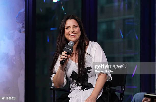 Recording artist Amy Lee attends the BUILD speaker series at AOL HQ on September 30 2016 in New York City