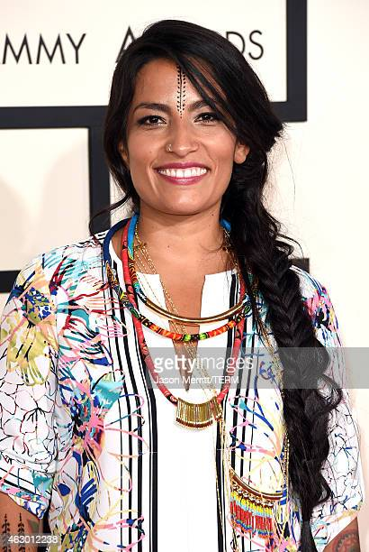 Recording artist Ana Tijoux attends The 57th Annual GRAMMY Awards at the STAPLES Center on February 8 2015 in Los Angeles California