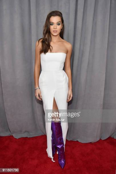 Recording artist and actor Hailee Steinfeld attends the 60th Annual GRAMMY Awards at Madison Square Garden on January 28 2018 in New York City
