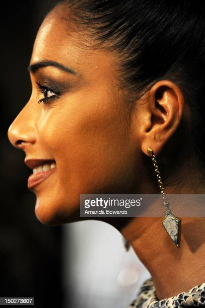 Recording artist and dancer Nicole Scherzinger arrives at the will.i.am Album Wrap Party at Avalon on August 13, 2012 in Hollywood, California.