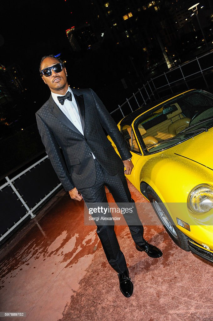 Haute Living Cover Launch Party For Future Hendrix Presented By Hublot And Jetsmarter : News Photo