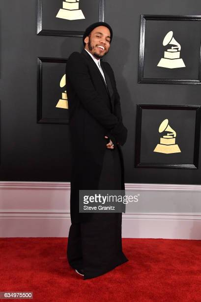 Recording artist Anderson Paak attends The 59th GRAMMY Awards at STAPLES Center on February 12 2017 in Los Angeles California
