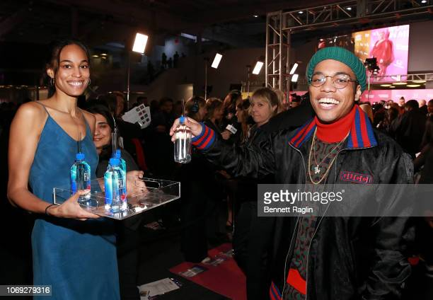 Recording artist Anderson Paak attends the Billboard's Women In Music 2018 with FIJI water at Pier 36 on December 6 2018 in New York City