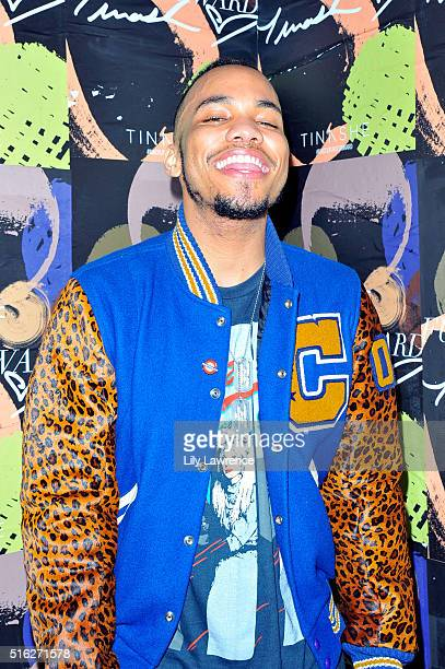 Recording artist Anderson Paak attends the MAC Cosmetics SXSW Party Performance with Tinashe at Palazzo Lavaca on March 17 2016 in Austin Texas