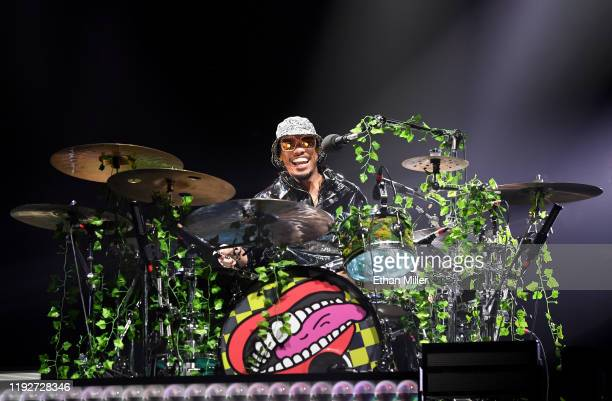Recording artist Anderson Paak of Anderson .Paak & The Free Nationals performs at the Intersect music festival at the Las Vegas Festival Grounds on...