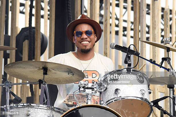 Recording artist Anderson Paak performs onstage during the 2016 MTV Woodies/10 For 16 on March 16 2016 in Austin Texas