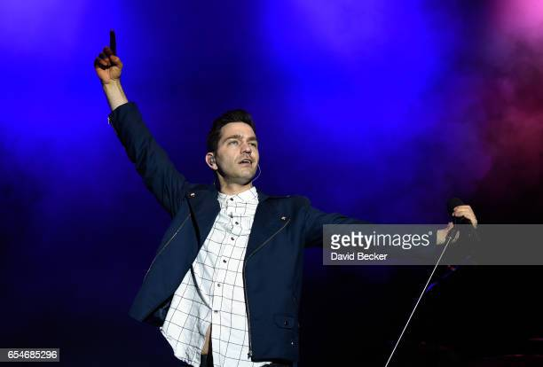 Recording Artist Andy Grammer performs during the Spring Fling concert at the Red Rock Resort on March 17 2017 in Las Vegas Nevada
