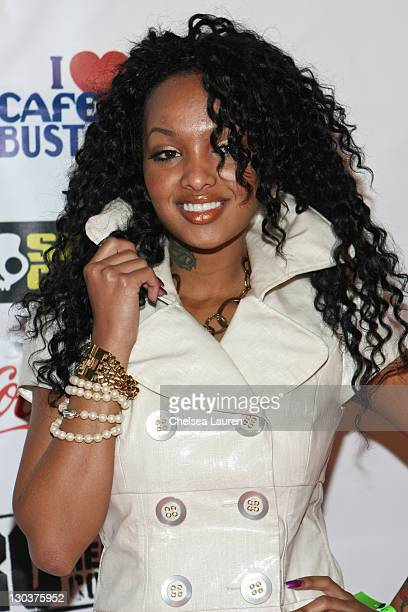 Recording artist Angel Lola Luv aka Lola Monroe attends the Steve Rifkind and SRC Late Night after party in honor of Stephen Hill at Union Station on...
