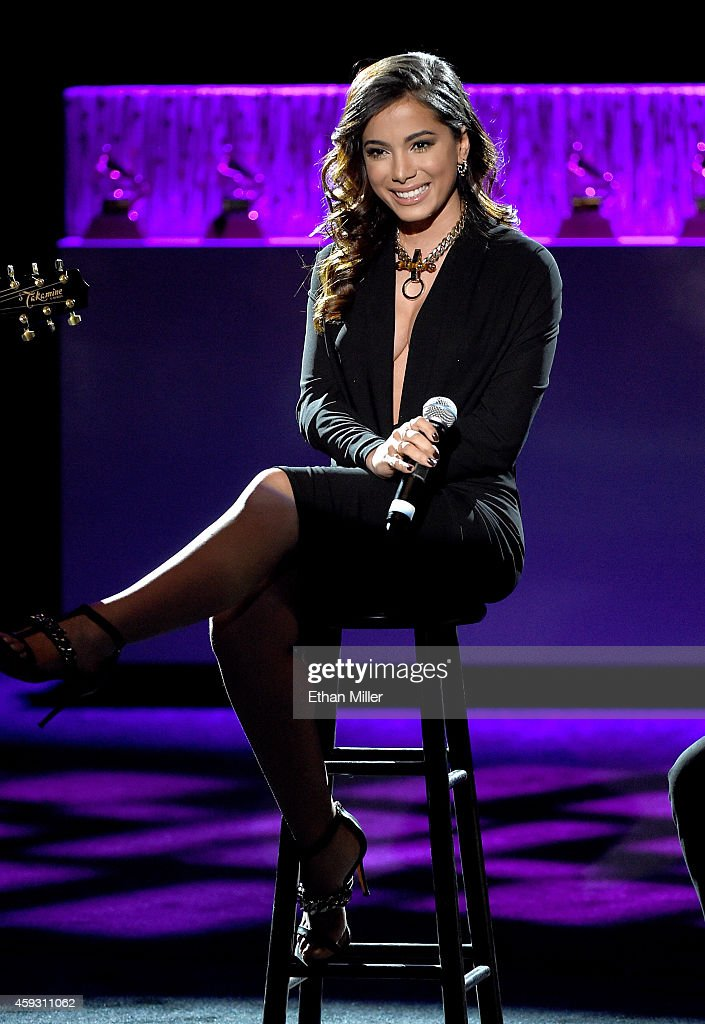 Recording artist Anitta performs onstage during the 15th annual Latin GRAMMY Awards premiere ceremony at the Hollywood Theatre at the MGM Grand Hotel/Casino on November 20, 2014 in Las Vegas, Nevada.