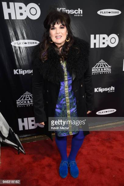 Recording artist Ann Wilson attends the 33rd Annual Rock & Roll Hall of Fame Induction Ceremony at Public Auditorium on April 14, 2018 in Cleveland,...