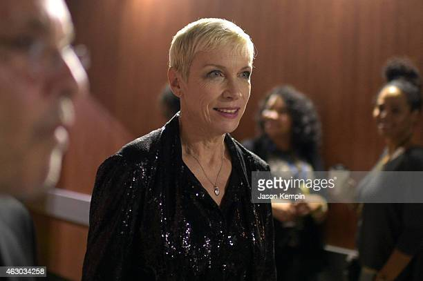 Recording artist Annie Lennox attends The 57th Annual GRAMMY Awards at STAPLES Center on February 8 2015 in Los Angeles California