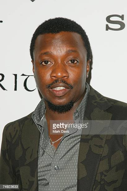 Recording artist Anthony Hamilton arrives to Zomba Label Group's PreBET Awards Party featuring Ciara held at Ritual Nightclub on June 25 2007 in...