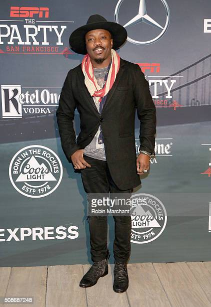 Recording artist Anthony Hamilton attends ESPN The Party on February 5 2016 in San Francisco California