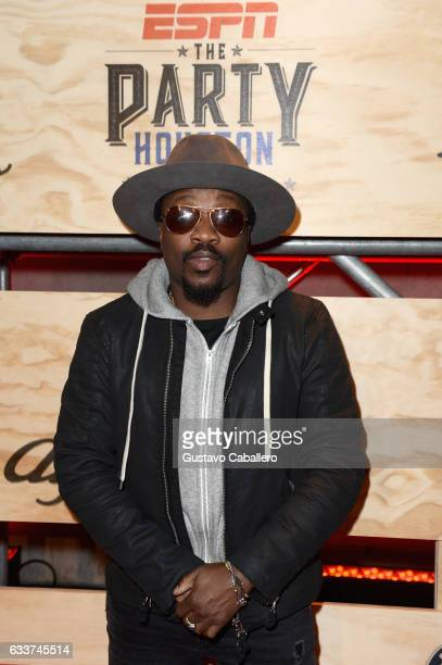 Recording artist Anthony Hamilton attends the 13th Annual ESPN The Party on February 3 2017 in Houston Texas