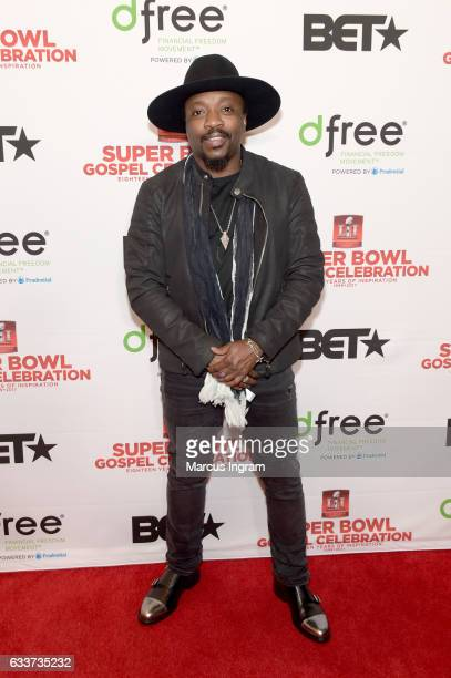 Recording artist Anthony Hamilton attends the BET Presents Super Bowl Gospel Celebration at Lakewood Church on February 3 2017 in Houston Texas