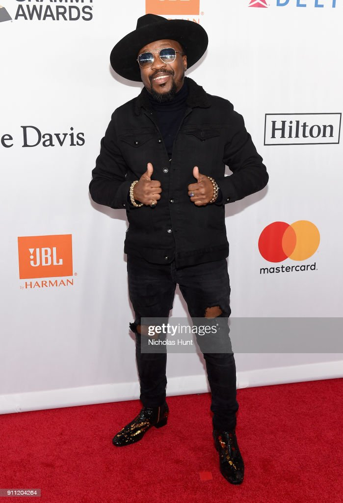 Recording artist Anthony Hamilton attends the Clive Davis and Recording Academy Pre-GRAMMY Gala and GRAMMY Salute to Industry Icons Honoring Jay-Z on January 27, 2018 in New York City.