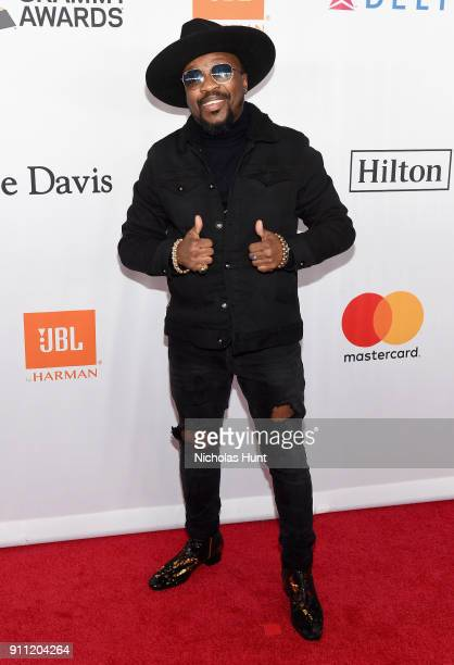 Recording artist Anthony Hamilton attends the Clive Davis and Recording Academy PreGRAMMY Gala and GRAMMY Salute to Industry Icons Honoring JayZ on...