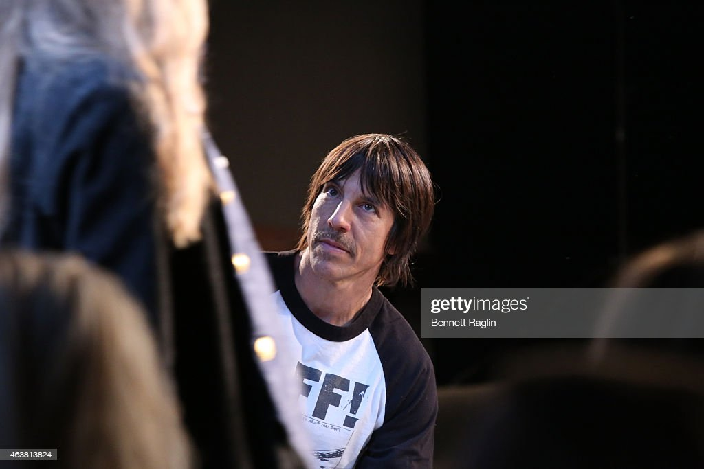 Greg Lauren -FrontRow& Backstage - Mercedes-Benz Fashion Week Fall 2015 : News Photo