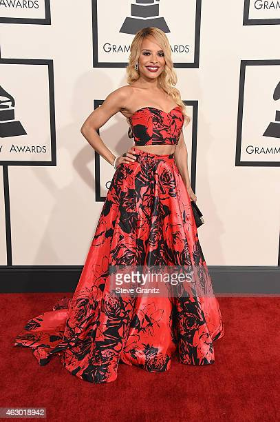 Recording artist Antonique Smith attends The 57th Annual GRAMMY Awards at the STAPLES Center on February 8 2015 in Los Angeles California