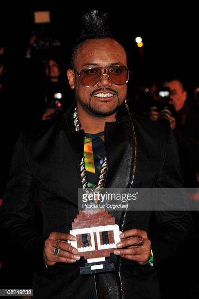 Recording artist apldeap of The Black Eyed Peas attends the NRJ Music Awards 2011 on January 22 2011 at the Palais des Festivals et des Congres in...