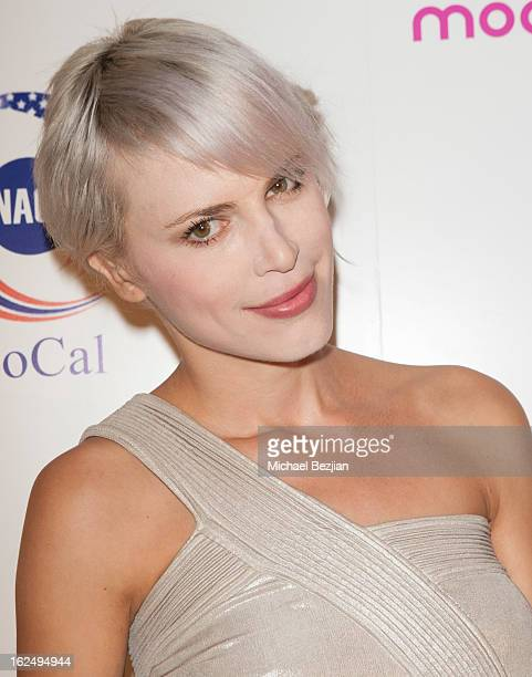 Recording artist Aria Crescendo attends Moods Of Norway Scandinavian PreOSCAR Celebration on February 23 2013 in Los Angeles California