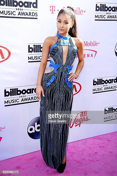 Recording artist Ariana Grande attends the 2016 Billboard Music Awards at TMobile Arena on May 22 2016 in Las Vegas Nevada