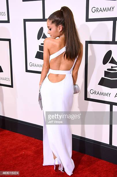 Recording artist Ariana Grande attends The 57th Annual GRAMMY Awards at the STAPLES Center on February 8 2015 in Los Angeles California
